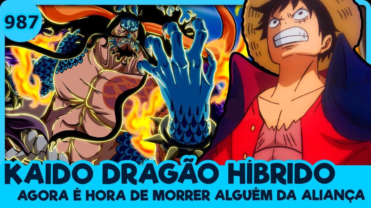 KAIDO MODO HÍBRIDO E A GRANDE MATANÇA (One Piece 987 | Mangá)