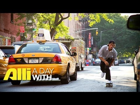 Alli Skate Videos - A Day With Eli Reed in New York City