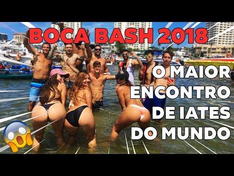 FUI NA MAIOR FESTA DE IATES DOS EUA | BOCA BASH 2018