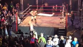 EWA Catch Wrestling Weltmeisterschaft Chris the Bambikiller Raaber vs Joe Doering 30-12-16