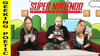 SNES SUPER NINTENDO CLASSIC EDITION GAMEPLAY!