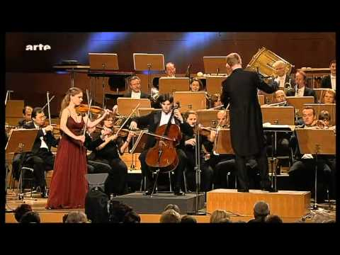 Brahms Double concerto with Julia Fischer and Daniel Müller-Schott - 1. movement