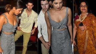 Priyanka Chopra Spotted With Family & Rumoured Boy Friend Nick Jonas | Bollywood | YOYO Cine Talkies