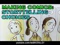 How I Make Comics: Storytelling Choices