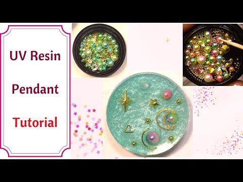 UV Resin Tutorial Using Jacquard Lumière Pigments