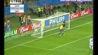 Finl Copa Confederaciones 2005 Argentina - Brasil (Relato Closs)