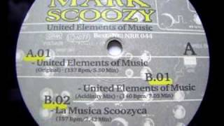 Marc Scoozy - United Elemets Of Music (Original Mix) - No Respect Records - 1996