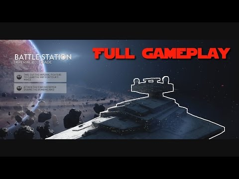 Death Star DLC - Full Battle Station Gameplay (Rebels)
