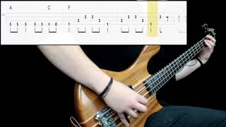 Dead Kennedys - Holiday In Cambodia (Bass Cover) (Play Along Tabs In Video)