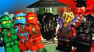 LEGO NINJAGO THE MOVIE - RISE OF THE VILLAINS PART 1 - THE TERROR OF SENSEI YANG