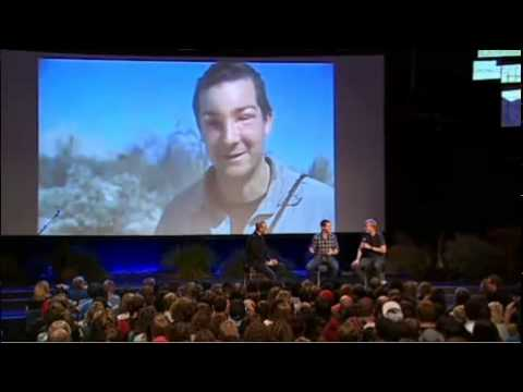 YouTube - Bear Grylls Interview plus Q&A with Hillsong Australia (Part 1).flv