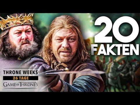 GAME OF THRONES: Roberts Rebellion & Der Irre König - 20 Fakten zur Vorgeschichte von WESTEROS