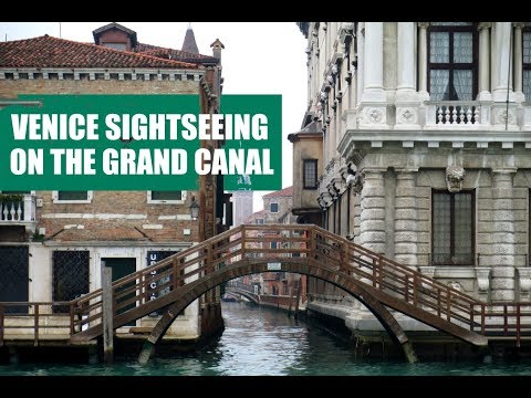 VENICE SIGHTSEEING ON THE GRAND CANAL, ITALY