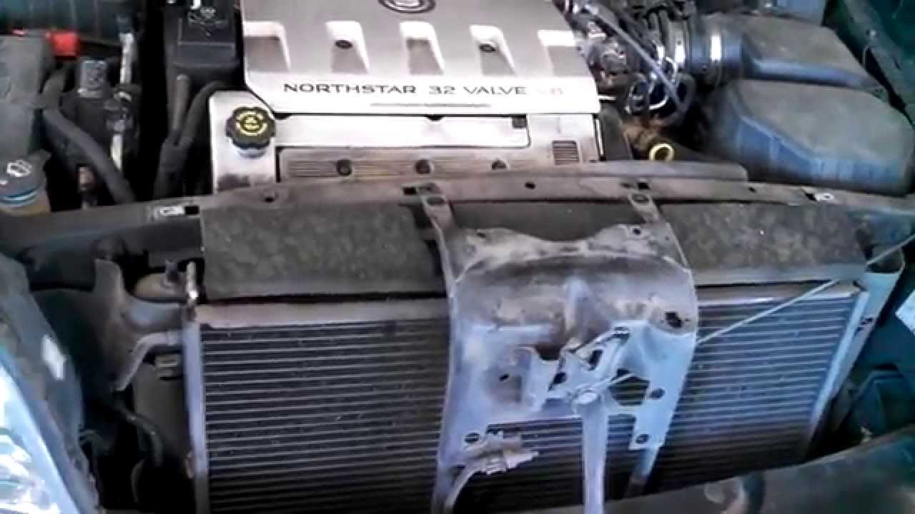 radiator replacement 2000 2005 cadillac deville 4 6l v8 install cadillac deville dts do you have a diagram to help replace [ 1280 x 720 Pixel ]