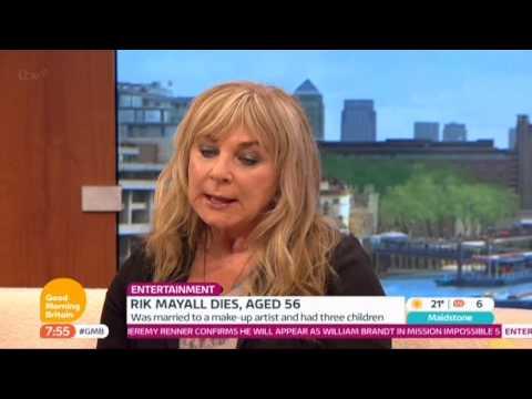 Rik Mayall Helen Lederer Good Morning Britain 2014