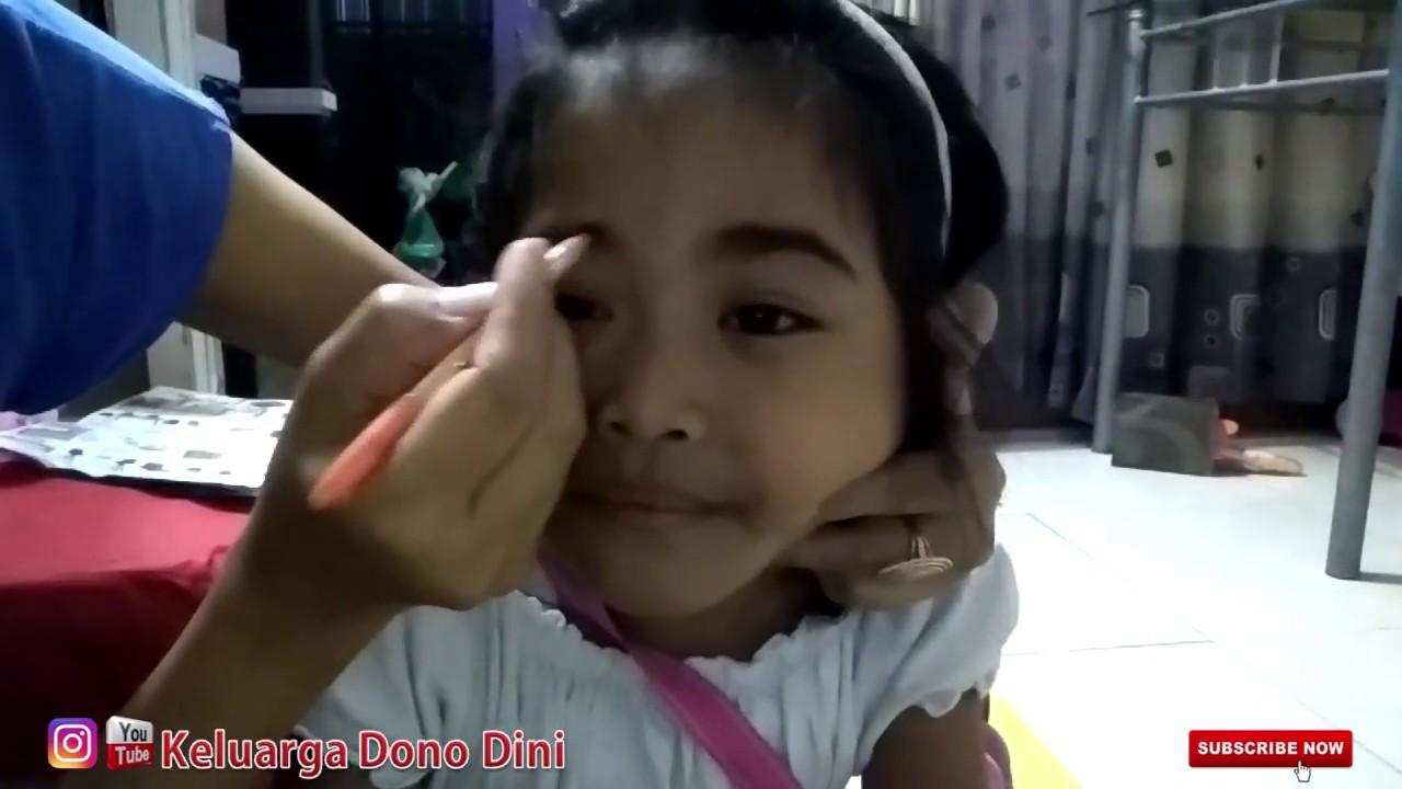 zahra make up anak anak simpel tanpa harus ke salon