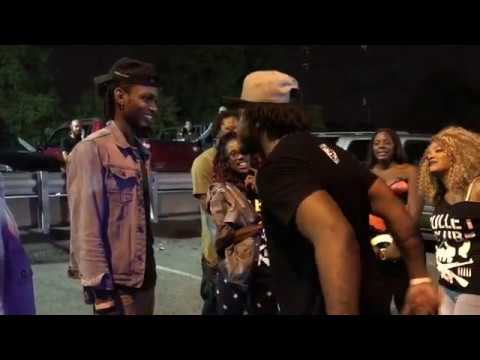 Troy Reign and other Artists - Go At It After Performance