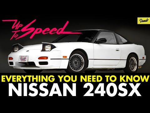 Nissan 240SX - 9 Must Know Facts | Up To Speed | Donut Media