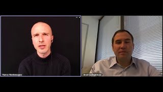 Brad Garlinghouse, Yousendit | Interview at Digital Domination Summit with @montemagno