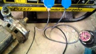 Бензиновый генератор на газу,на Метане.(Купил универсальный редуктор бензин - газ для бензиновой электростанции.Установил,настроил,переделал..., 2015-03-30T11:51:38.000Z)