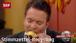 Report: Stimmzettel-Recycling | Giacobbo / Müller | SRF Comedy