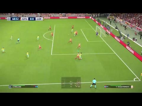 Pes 2018 UEFA Galatasaray vs London FC