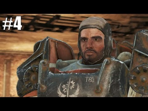 JOINING THE BROTHERHOOD OF STEEL | Fallout 4 [4]