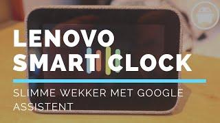 Lenovo Smart Clock op MWC 2019