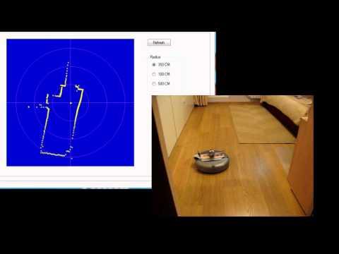 DIY LIDAR (Scanning laser rangefinder)