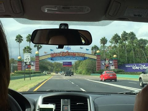 The Great Florida Adventure: Landing, Arrival & Check-In To Disney!