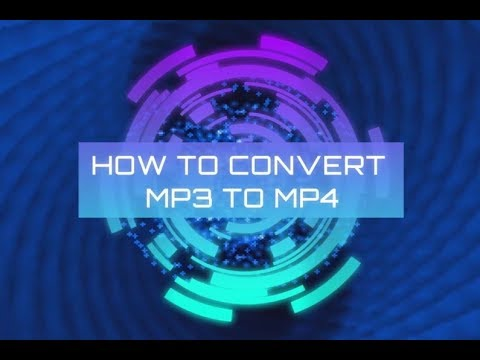 How to Convert MP3 to MP4: Cover or Audio Specturm