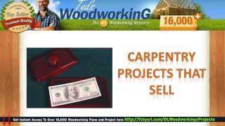 Beginning Carpentry Projects - Wood Projects That Sell