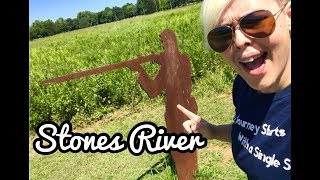 Quick Stops In Tennessee:   Cheap Travel Food Tips & FREE Roadside Stops (Stones River Battlefield)