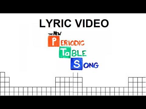 Periotic table song lyrics