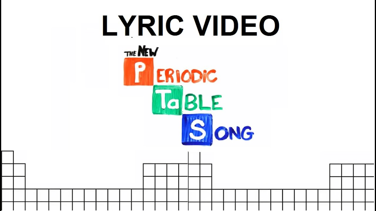 Periotic table song lyrics youtube urtaz Image collections
