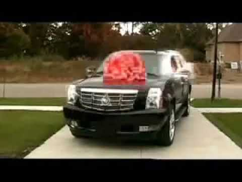 Merry Christmas Bitch  Woman getting in car that explodes