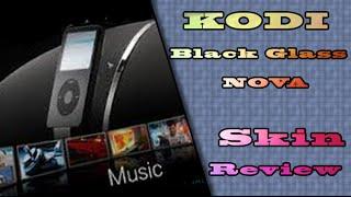 Kodi MC Black Glass SKin Review