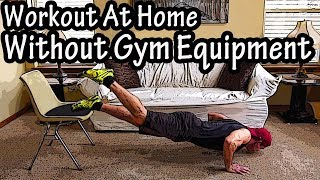 How To Workout At Home Without Gym Equipment Or Weights - How To Exercise At Home Without Equipment