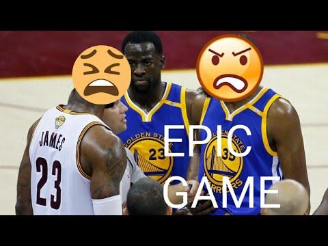 Lebron James VS. Kevin Durant! Lebron Block! Warriors vs Cavaliers! 2017-2018 Season!
