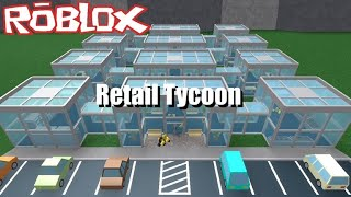 Playing retail tycoon on roblox! #1! Child with a beard.