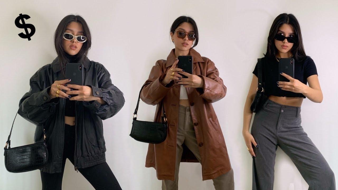 Viste bien con bajo presupuesto, dress trendy on a budget