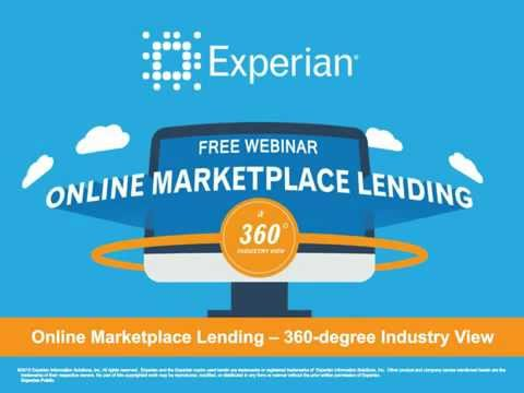 Online Marketplace Lending | Industry Overview (Webinar)