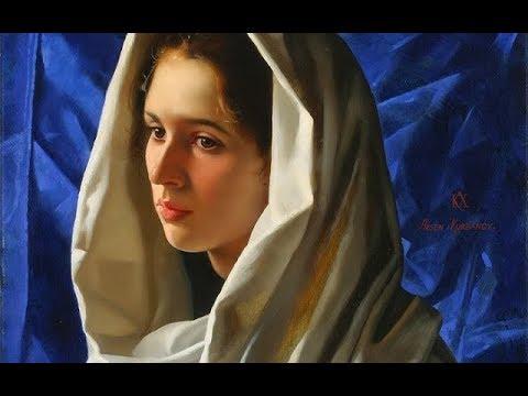 Arsen Kurbanov (1969) Russian Portrait-painter ✽ Chriss Spheeris / Juliette