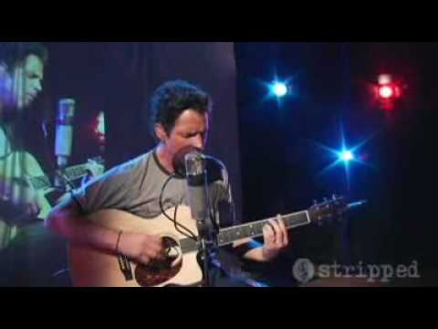 Chris Cornell Unplugged - BLACK HOLE SUN