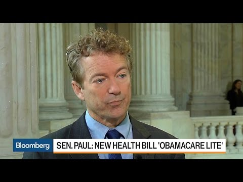 Sen. Rand Paul Says GOP Health Plan Is