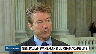 Sen. Rand Paul Says GOP Health Plan Is 'Dead on Arrival'