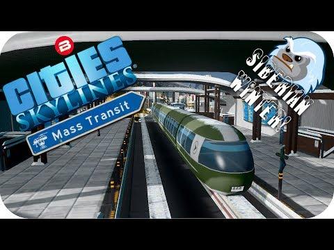 Cities Skylines Gameplay: FRAUD & MONORAILS! Cities Skylines MASS TRANSIT DLC SIBERIAN SCENARIO #8