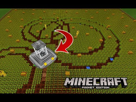 how to grow crops in minecraft pe