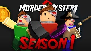 MURDER MYSTERY 2 SEASON 1 IS HERE!! LET'S TAKE A LOOK! (Roblox)