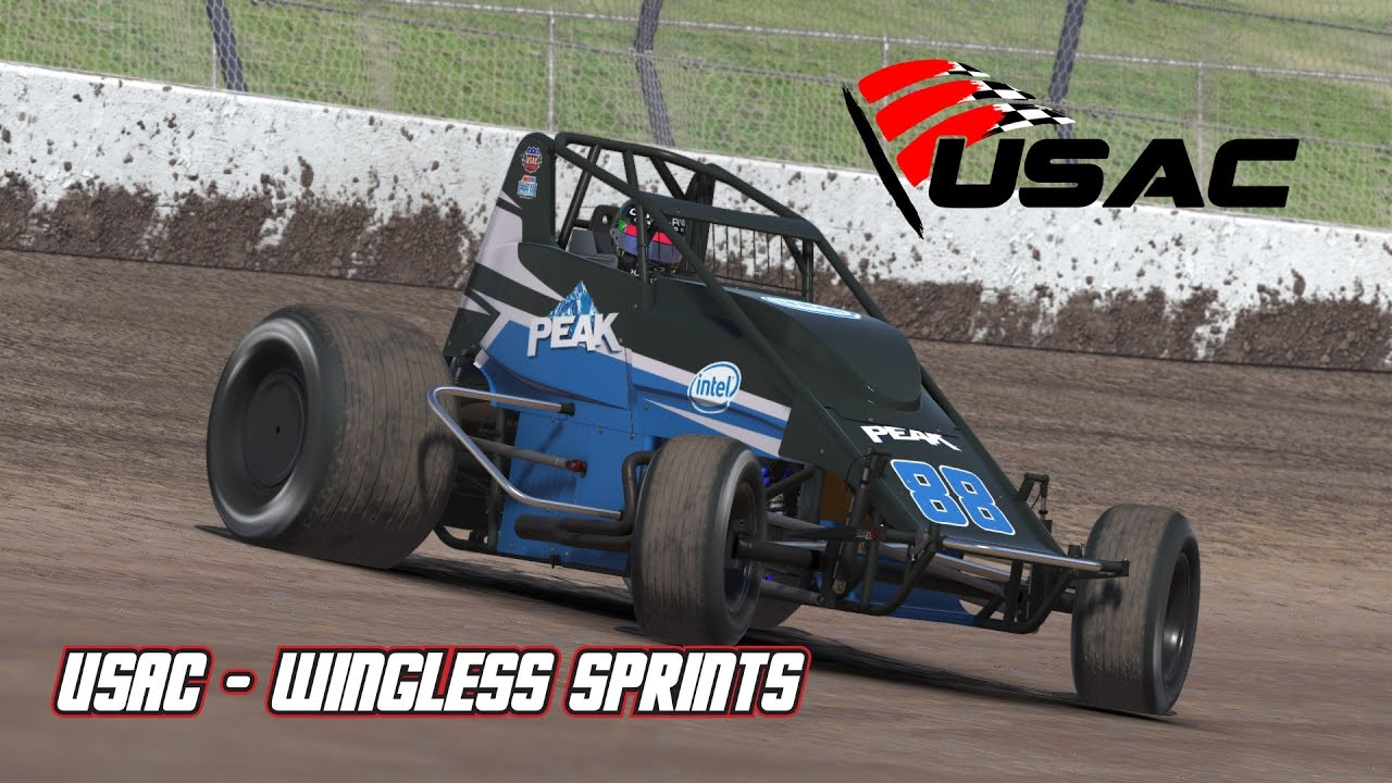 Iracing Usac Impressions Wingless Sprints First Drive Youtube